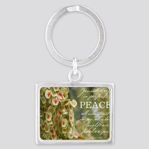 Perfect Peace Landscape Keychain