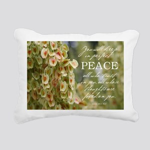 Perfect Peace Rectangular Canvas Pillow