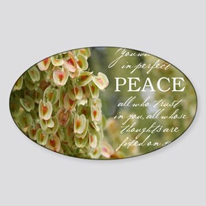 Perfect Peace Sticker (Oval)