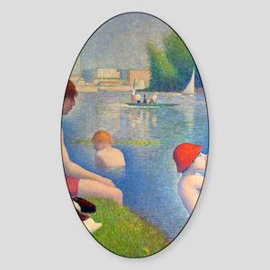 flip_flops Sticker (Oval)