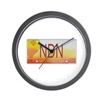 New Mexico NDN Pride Wall Clock
