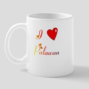 I Love Palawan Gifts Mug
