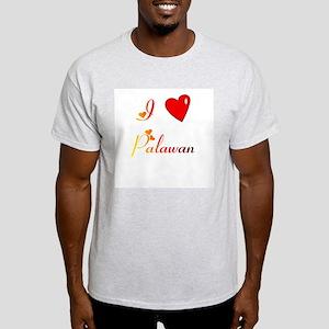 I Love Palawan Gifts Light T-Shirt