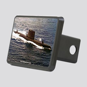 uss sailfish framed panel  Rectangular Hitch Cover