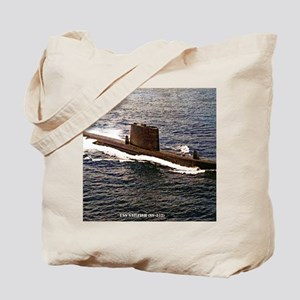 uss sailfish framed panel print Tote Bag