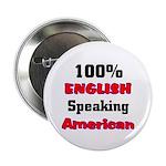 English Speaking American Button