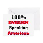 English Speaking American Greeting Cards (Package