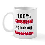 English Speaking American Mug