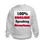 English Speaking American Kids Sweatshirt
