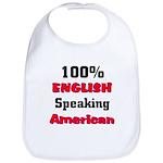 English Speaking American Bib