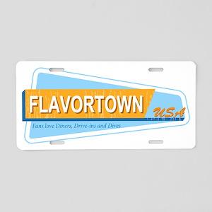 Fans of Flavortown Aluminum License Plate