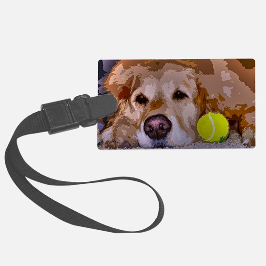 Golden Moment Luggage Tag