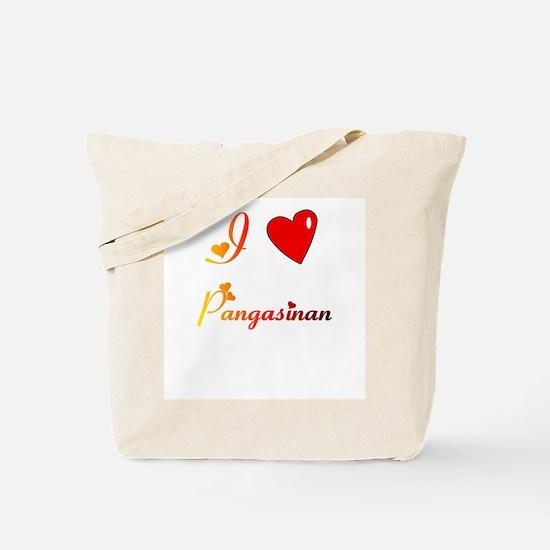 I Love Pangasinan Gifts Tote Bag