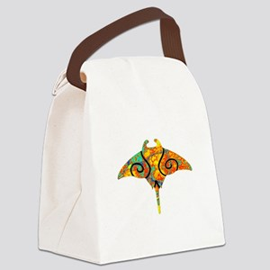 SPECTRUM RAY Canvas Lunch Bag