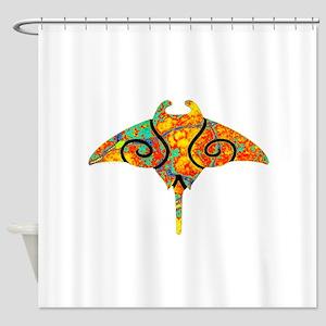 SPECTRUM RAY Shower Curtain