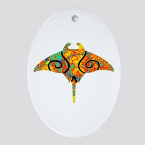 SPECTRUM RAY Oval Ornament