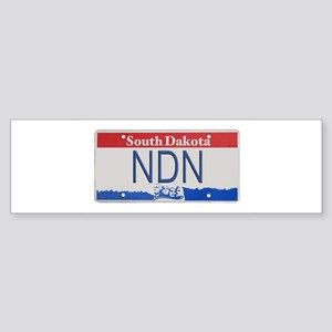 South Dakota NDN Pride Bumper Sticker