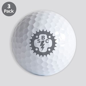 GRAY SBC LOGO Golf Balls