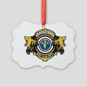 SHAZAM LIONS CLUB Picture Ornament
