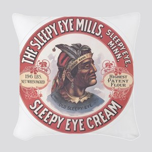 CHIEF SLEEPY EYE 2B Woven Throw Pillow