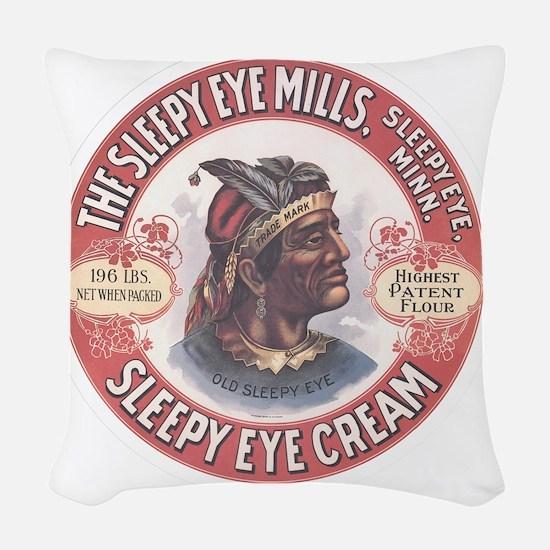 CHIEF SLEEPY EYE 2B Woven Throw Pillow