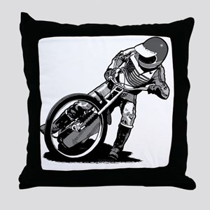 Speedway Throw Pillow