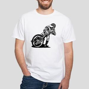 Speedway White T-Shirt