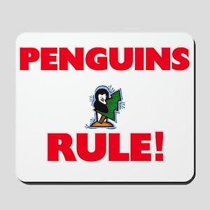 Penguins Rule! Mousepad