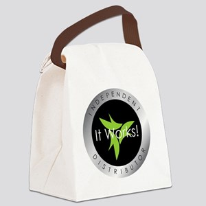 It Works Indepenent Distributor L Canvas Lunch Bag