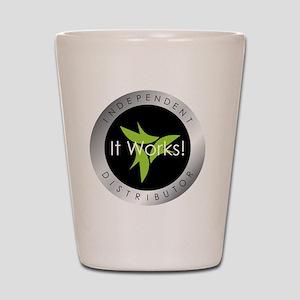 It Works Indepenent Distributor Logo Shot Glass