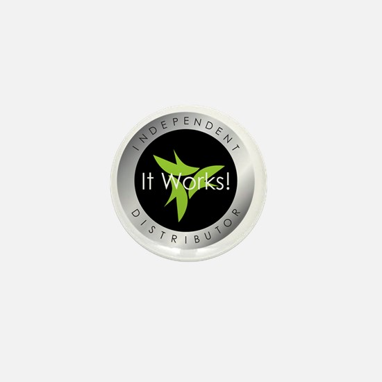 It Works Indepenent Distributor Logo Mini Button