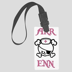 Dolly-Arr-Enn-STKR Large Luggage Tag