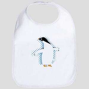 Penguin Posing Bib