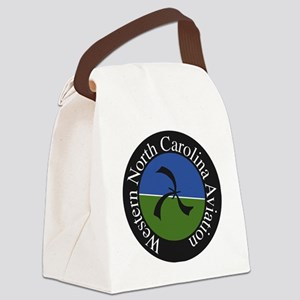 School Logo Canvas Lunch Bag