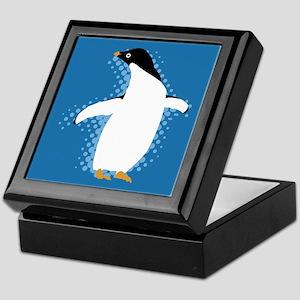 Penguin Posing Keepsake Box
