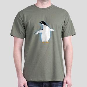 Penguin Posing Dark T-Shirt