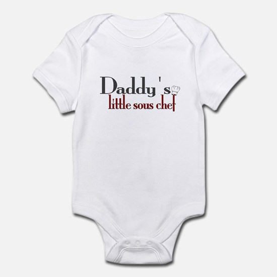 Daddy's Sous Chef Infant Bodysuit