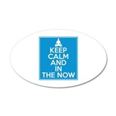 Keep Calm and In the Now Wall Decal