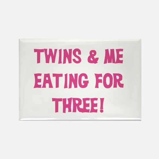 Expecting Twins Rectangle Magnet