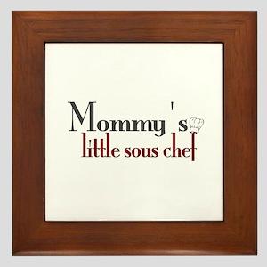Mommy's Sous Chef Framed Tile