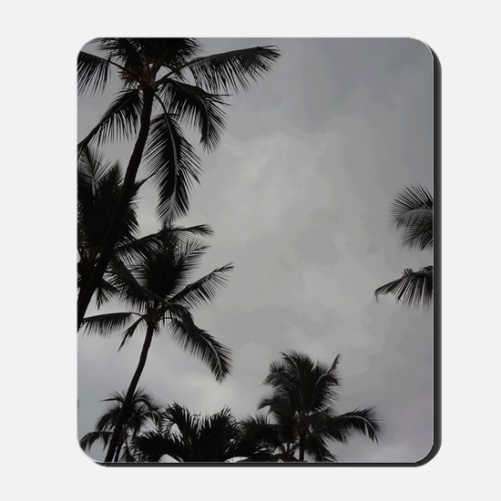 Palm Trees Sillouette Mousepad
