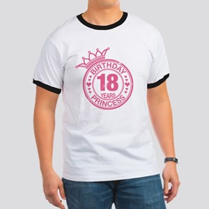 Birthday Princess 18 years Ringer T