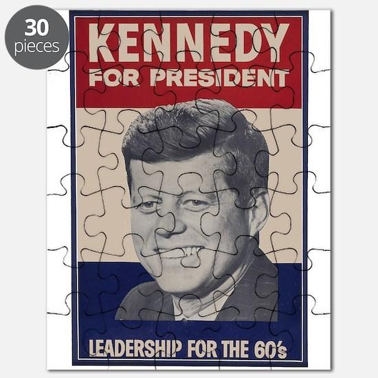 $14.99 JFK For President Puzzle