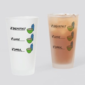 A Nutritionally Balanced Diet - Cer Drinking Glass