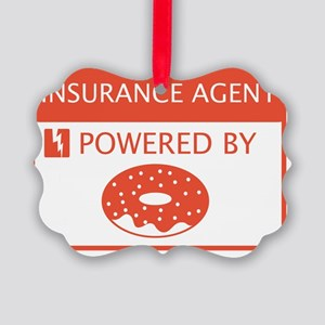 Insurance Agent Powered by Doughn Picture Ornament