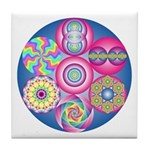 The Geometry Code - Tile Coaster