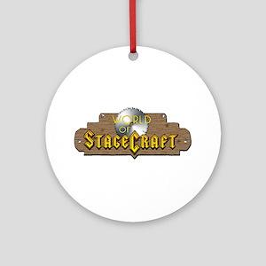 World Of Stagecraft Ornament (Round)