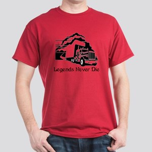 Legends Never Die Dark T-Shirt
