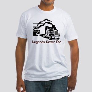 Legends Never Die Fitted T-Shirt
