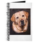 Yellow Labrador Retriever Painting Journal
